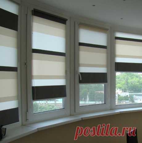 Рулонные шторы в дизайне интерьера: преимущества и недостатки