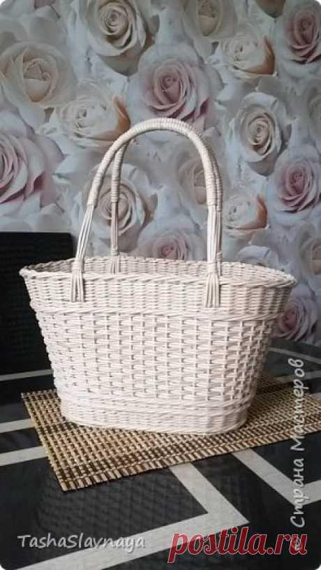 Пластиковая сумка-корзинка - то что надо!