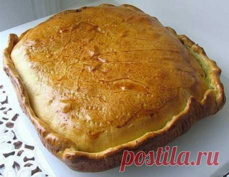 Пирог с курицей и картошкой / IP Neo