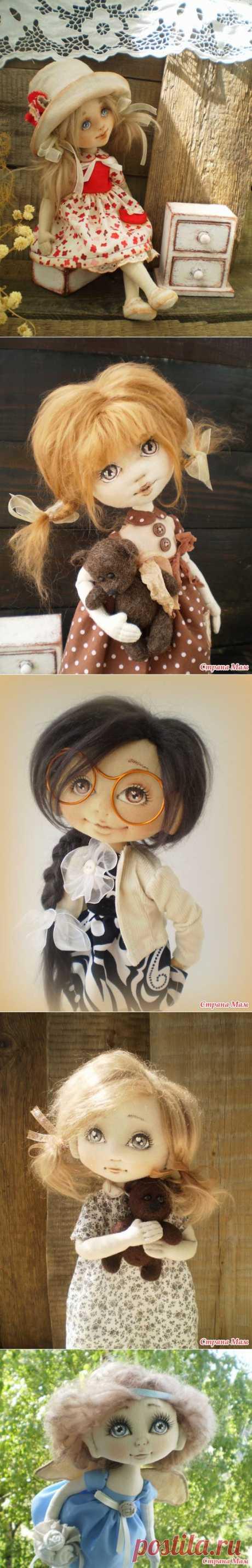 Текстильные куклы Ирины Хочиной. Полюбоваться!.