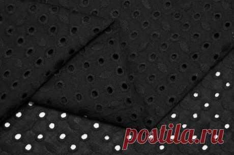 Шитье плательно блузочная ткань 02SH-27/Black купить в интернет-магазине TKANI EXPERT