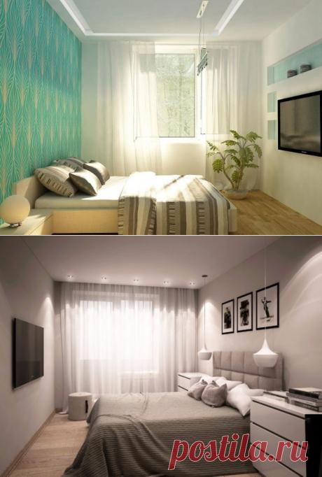 Советы по оформлению интерьера небольшой спальни 10 кв.м (10 фото)!