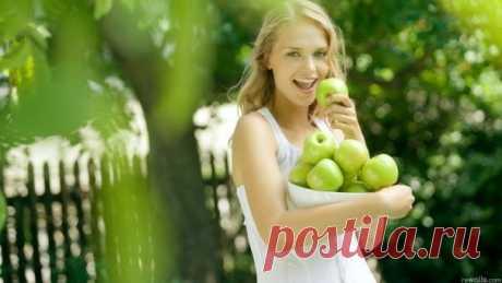 Яблоки способствуют долголетию