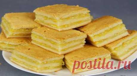 Нежнейшее пирожное с лимонно-апельсиновой начинкой - безумно вкусно! Ингредиенты: для теста: Мука — 3 стакана; Сахар — 3 столовые ложки; Сливочное масло — 200 грамм; Молоко — полстакана; Дрожжи сухие — 1 столовая ложка; Соль —...