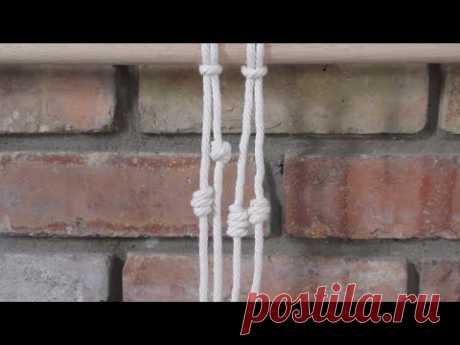 Как завязать бочковый узел