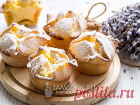Итальянские пирожные «Соффиони» — рецепт с фото Пирожные любви - так называют их итальянцы. Выпекаются они сразу с начинкой из рикотты. Вместо рикотты можно взять творог.