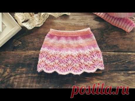 Short skirt for the Princess. Spokes. MK. Japanese pattern.