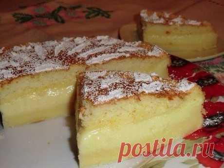 """""""Умное пирожное"""": простой рецепт невероятно вкусного и оригинального блюда"""