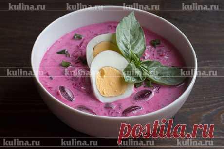 Литовский свекольник: отличное средство от жары – рецепт приготовления с фото от Kulina.Ru
