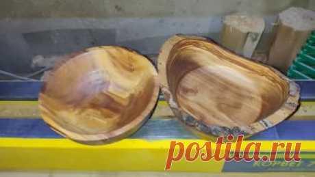 Пара чеплашек. яблоня. Первая(справа) d180/h80, вторая (слева) d160/h60. Покрыты мартьяновым.  Автор: Вячеслав Чуриков