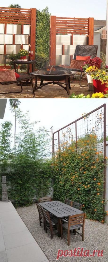 Эти приемы помогут отгородиться от соседей по даче | Дачные идеи от Наталии Ширяевой | Яндекс Дзен