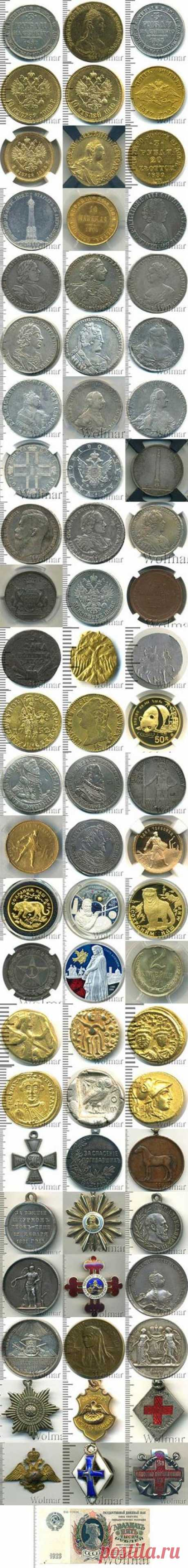 Интернет аукцион монет и медалей - нумизматика покупка и продажа монет, скупка монет и медалей онлайн в аукционном доме Wolmar.ru!
