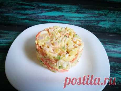 Первый салат, который я готовила вместе со своей свекровью, теперь это и мой любимый рецепт | PripravaClub - кулинарный канал | Яндекс Дзен