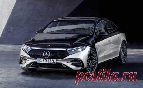 Электрический лифтбек Mercedes-Benz EQS 2022: моторы, версии, комплектация