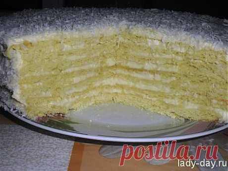 Торт Рафаэлло | Простые рецепты с фото