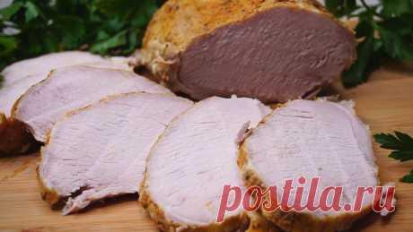 """Так Вкусно, что язык проглотишь! Мясо """"Горе Луковое"""".  Мясо в духовке. Готовится безумно просто, и вам понадобится минимум посуды, ведь все за вас сделает духовка! Можно есть и в горячем виде и для бутербродов подойдет. ИНГРЕДИЕНТЫ  Мясо филе (карбонад) …"""