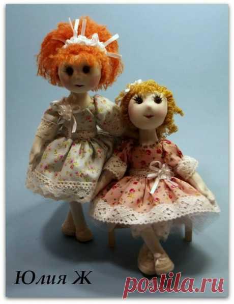 Все текстильные остатки — в дело! Шьем текстильную каркасную куклу - Ярмарка Мастеров - ручная работа, handmade