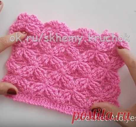 Very beautiful not hackneyed pattern hook. They can knit anything - from summer jackets, to spring hats. Masterklass is available.