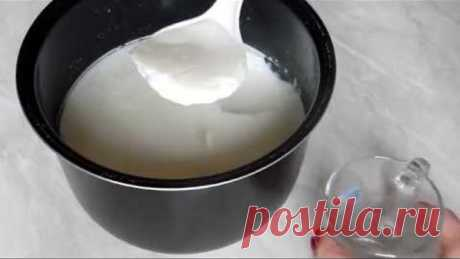 Как приготовить домашний йогурт в мультиварке с закваской ViVo