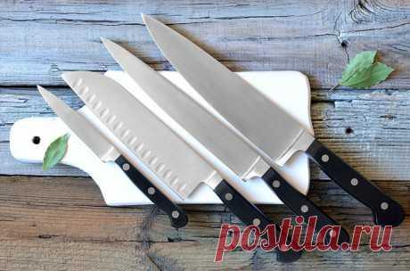Выбор и использование кухонных ножей — Полезные советы