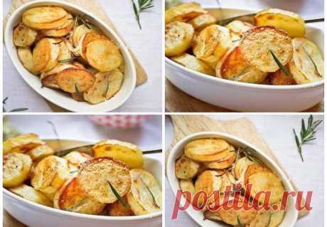 Ароматная запеченная картошка по рецепту Джейми Оливера