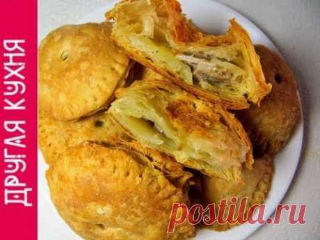 Very tasty potatoes and brisket pies. Super recipe