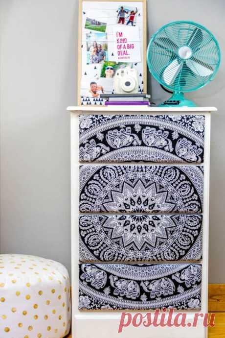 Переделка мебели тканью (DIY) Модная одежда и дизайн интерьера своими руками
