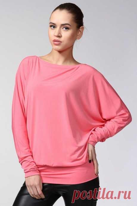 Блуза с рукавом «летучая мышь» (Шитье и крой) – Журнал Вдохновение Рукодельницы