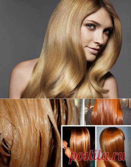 Волосы как шелк на протяжении двух недель, этот новый способ домашнего ламинирования волос творит чудеса!