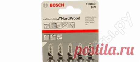 Лобзик и полотна Bosch Код товара 13639980 Пилки для лобзика по дереву (91 мм; 5 шт.) T308BF Bosch 2608636569 Цена 1472 рубля