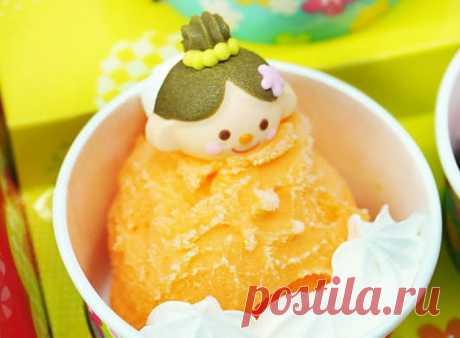 Апельсиновое сорбет-мороженое Апельсиновое сорбет-мороженое - пошаговый кулинарный рецепт приготовления с фото, шаг за шагом.