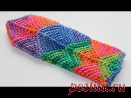Варежки в стиле пчворк - идеи для вязания и шитья. МК на спицах | Вязание спицами аксессуаров