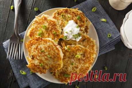 Американский рецепт картофельных драников — Sloosh – кулинарные рецепты