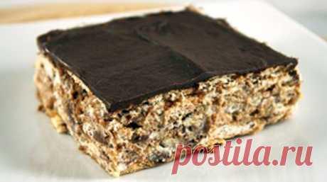 Обожаю такие десерты: Торт из печенья без выпечки. Получаются всегда бесподобно! - life4women.ru