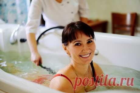 Бишофитные ванны — магниевая соль для вашего здоровья и долголетия