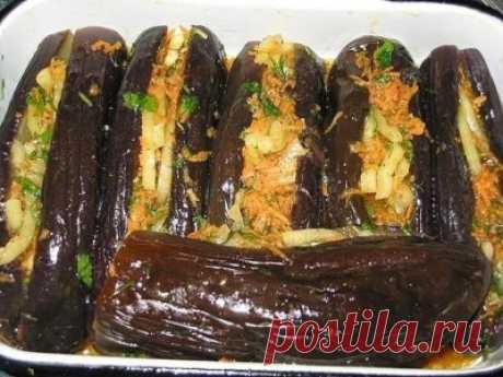 Блюда из баклажанов (десять рецептов)