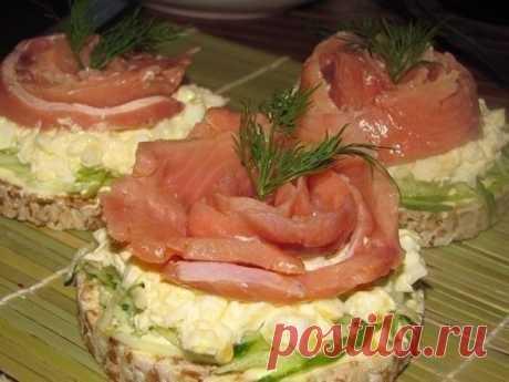 Бутербродики с рыбкой