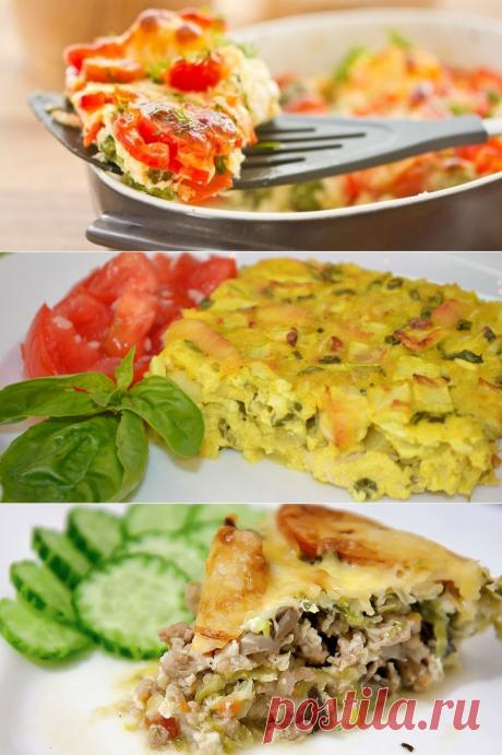 Кабачковая запеканка - как приготовить по пошаговым рецептам в духовке, мультиварке или на сковороде