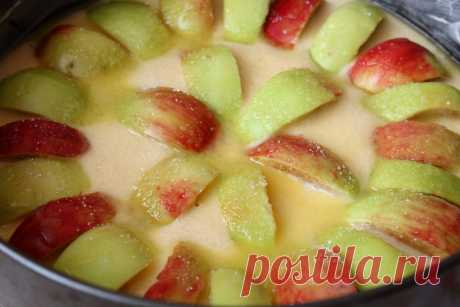 Итальянский деревенский пирог — простой, но очень вкусный пирог с яблоками. Рецепт с фото | Я Готовлю... | Яндекс Дзен