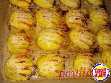 Фаршированные картофельные ракушки