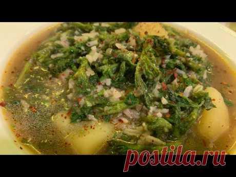 Крапивный суп для постного питания | Nettle soup | Եղինջով ապուր
