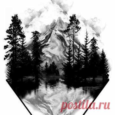 Рисование размывкой | Уроки рисования & Арт-терапия | Яндекс Дзен