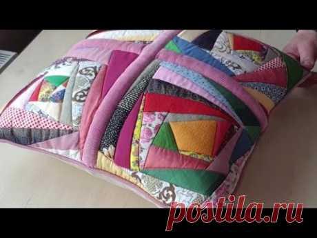 Печворк.Стежка.Собрать лоскутные блоки. Как организовать свое рабочее место. Лоскутная подушка.