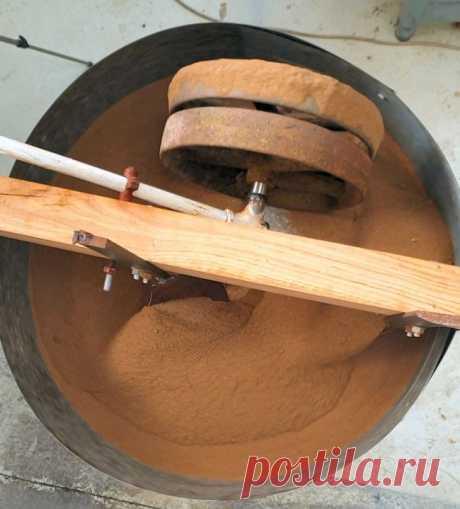Вторичное использование деталей стиральной машины, микроволновой печи, для изготовления поворотного стола