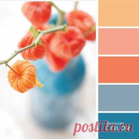 Лучшие сочетания цветов с персиковым — Сделай сам, идеи для творчества - DIY Ideas
