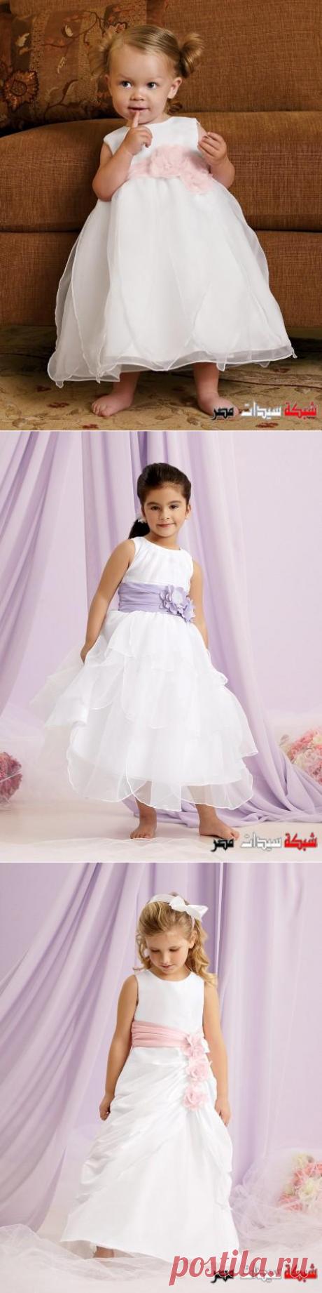 فساتين زفاف للاطفال - فساتين افراح للاطفال - اشيك فساتين زفاف للبنوتات - wedding dresses for girls