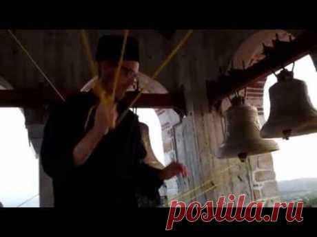 Колокольный звон на подворье монастыря Дохиар  (Афон)