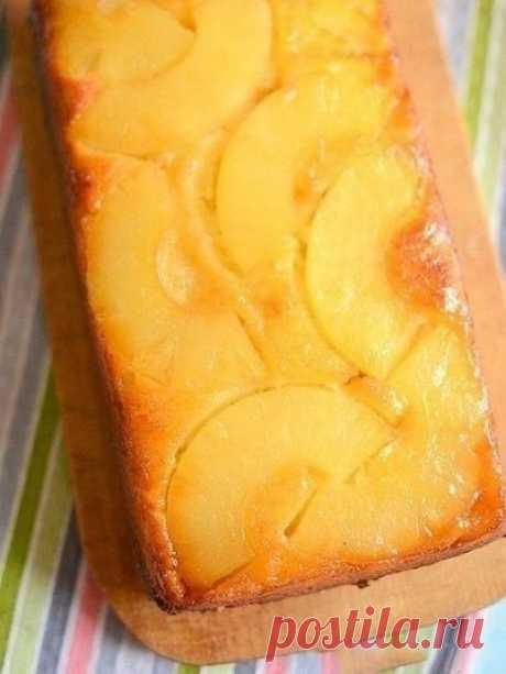 Пирог с консервированным ананасом — Sloosh – кулинарные рецепты