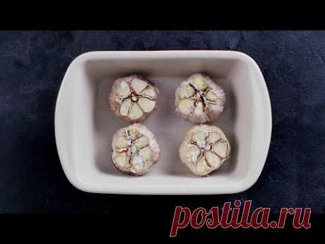 Запеченный картофель с чесночным маслом - Рецепты от Со Вкусом