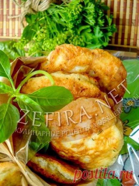 Ленивые беляши или оладьи с фаршем на кефире — Кулинарные рецепты любящей жены